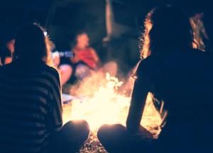 campfire story shutterstock_211091626