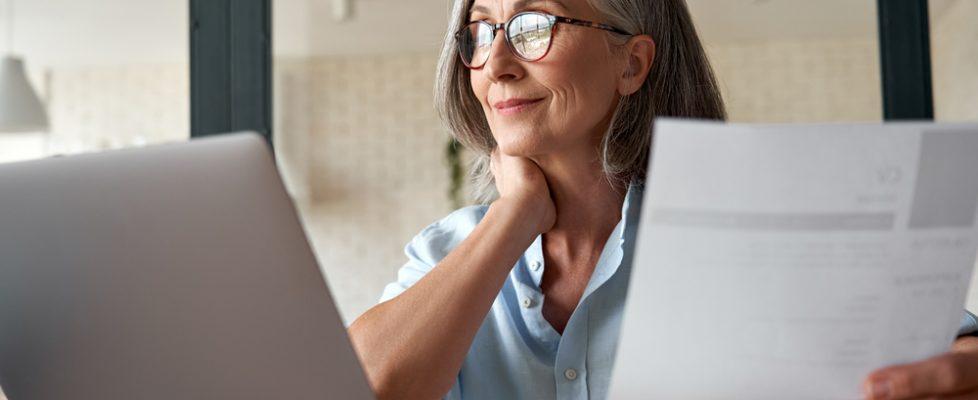 older woman job search shutterstock_1818524411